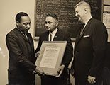 Dr. King is Given the Pacem in Terris Award
