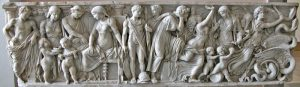 Marble Sarcophagus of Medea Story