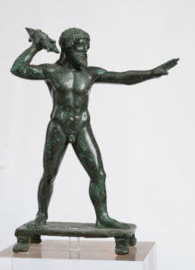 Bronze figurine of Zeus Keraunios (with a thunderbolt)