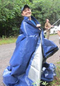 Julia Thome; Tarp Queen.