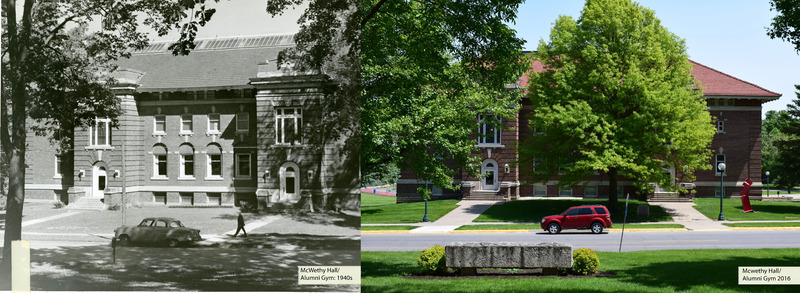 Then-Now McWethy Hall