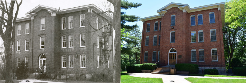 Then-Now South Hall