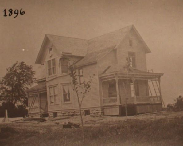Photo of 703 6th Ave from 1896