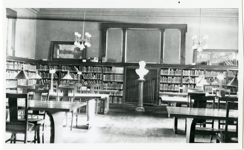 Cornell College library room